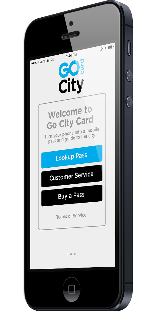 Go City Card App