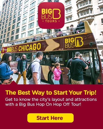 Hop-On Hop-Off Big Bus Chicago 张门票