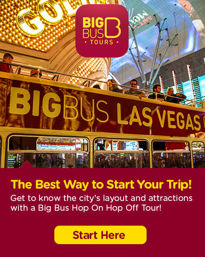 Hop-On Hop-Off Big Bus Las Vegas tickets