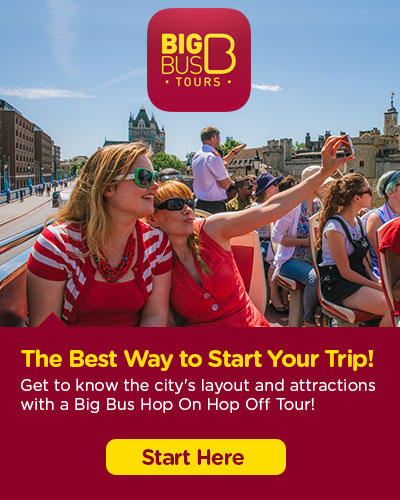 Hop-On Hop-Off Big Bus London tickets