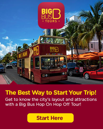 Hop-On Hop-Off Big Bus Miami tickets