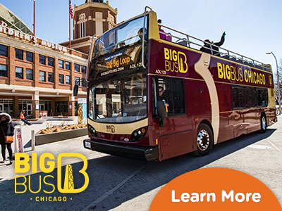 Hop-On Hop-Off Big Bus Chicago チケット
