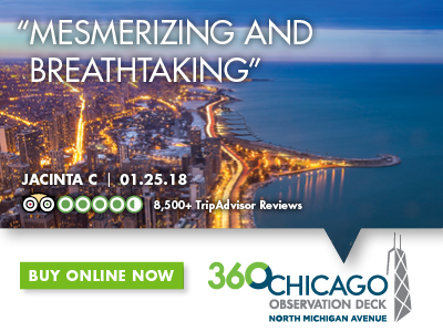 360 Chicago tickets