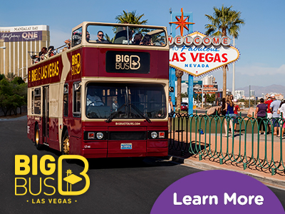 Hop-On Hop-Off Big Bus Las Vegas ingressos