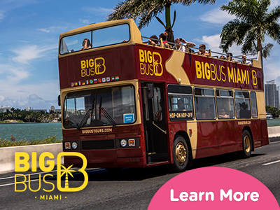 Hop-On Hop-Off Big Bus Miami チケット