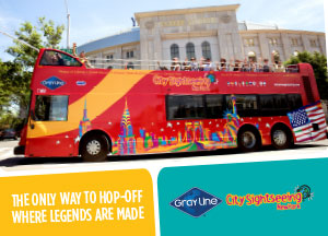 Gray Line CitySightseeing NY Bus Tours