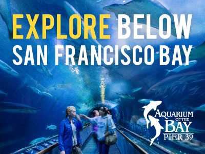 Aquarium of the Bay tickets