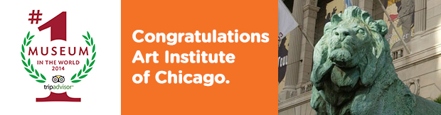 Congrats Art Institute of Chicago.