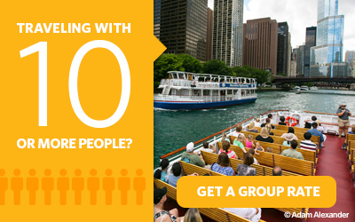 Purchasing 10 or more Go Chicago Card attraction passes? Get a group rate.