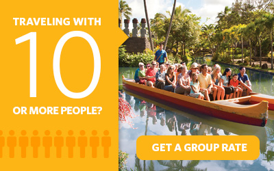 Purchasing 10 or more Go Oahu Card attraction passes? Get a group rate.