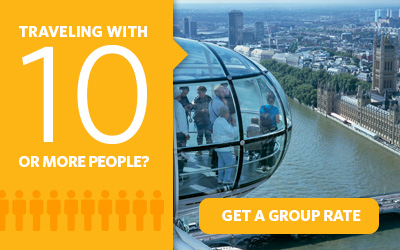 Purchasing 10 or more Go London Card attraction passes? Get a group rate.