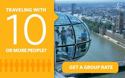 Vous souhaitez acheter plus de 10 Go London Cards? Nous proposons des tarifs de groupe.