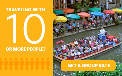 Purchasing 10 or more Go San Antonio Card attraction passes? Get a group rate.