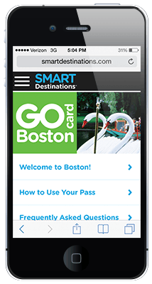Go Boston Card online guide