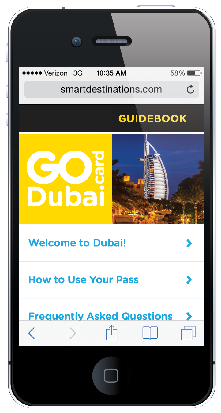 Go Dubai Card online guide