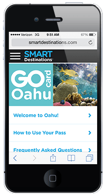 Go Oahu Card online guide