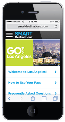 Go Los Angeles Card online guide