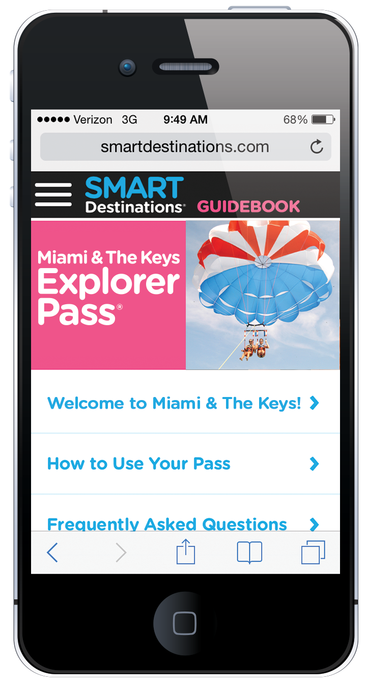 Miami & The Keys Explorer Pass online guide