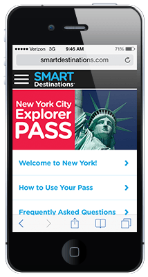 Guia online New York Explorer Pass