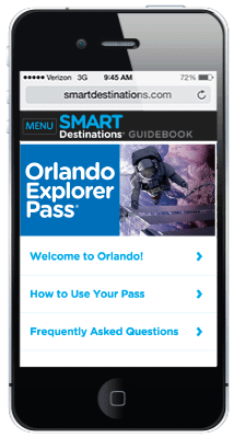 Orlando Explorer Pass online guide