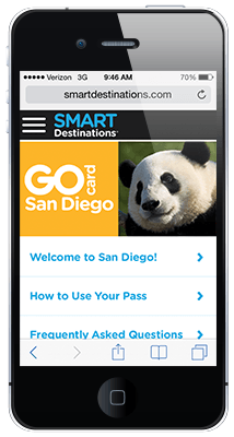 Go San Diego Card online guide