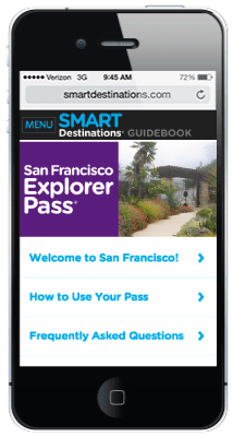 San Francisco Explorer Pass online guide