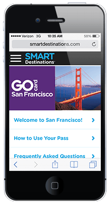 Go San Francisco Card online guide