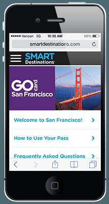 go san francisco card guidebook go san francisco card rh smartdestinations com LG Phone Manuals User Guides Manual for iPhone 5 Manual