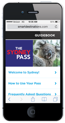Sydney Explorer Pass online guide