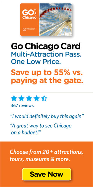 Save on Chicago's top tours & attraction tickets.