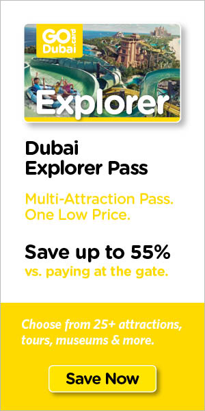 Save on Dubai's top tours & attraction tickets.