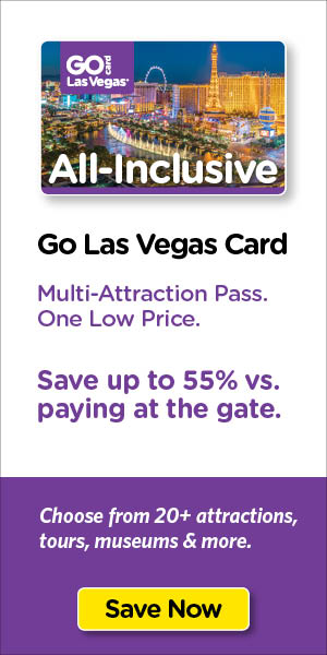 Save on Las Vegas's top tours & attraction tickets.
