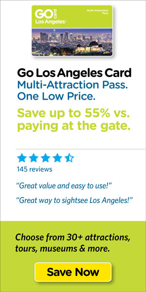 Save on Los Angeles's top tours & attraction tickets.