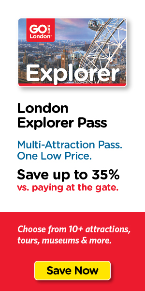 Save on London's top tours & attraction tickets.