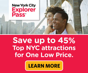 Save up to 55% on New York's top tours & attractions.