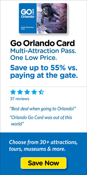 Save on Orlando's top tours & attraction tickets.