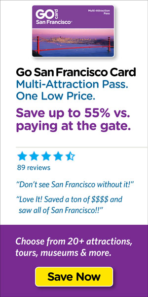 Save on San Francisco's top tours & attraction tickets.