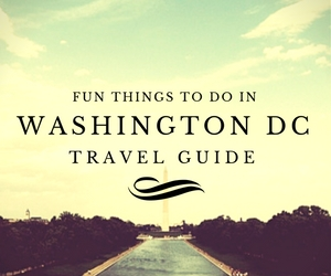 Fun things to do in Washington DC travel guides