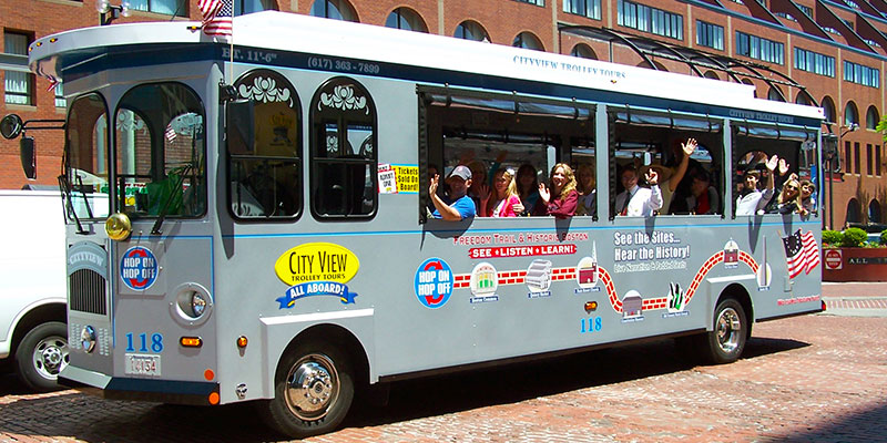 Image result for boston hop on hop off trolley
