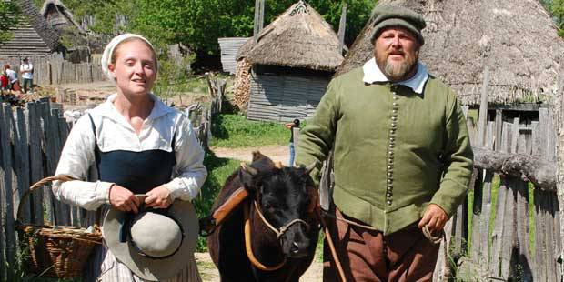 Plimoth Plantation Mayflower II 1
