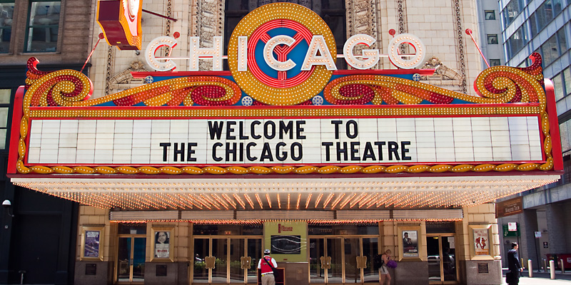 Image result for chicago theatre logo