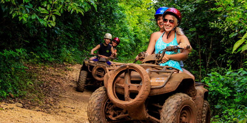 ATV, Ziplines and Cenote Combo Tour at Extreme Adventure