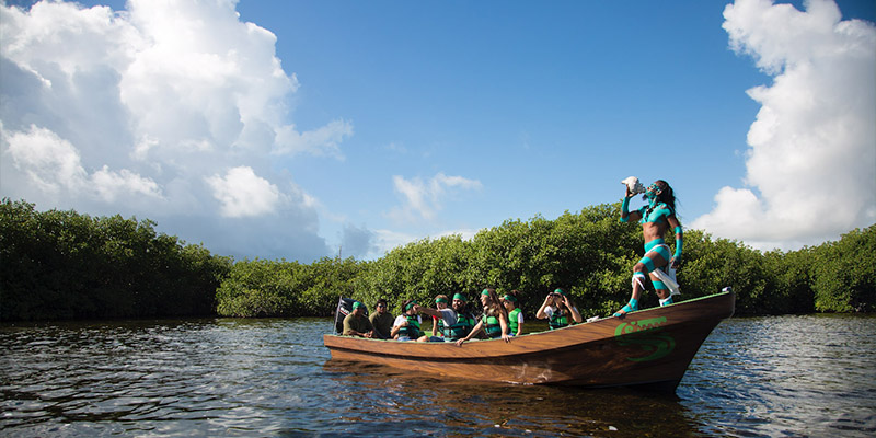 Parque Maya Mangrove Cruise Lunch And Activity Course Tickets Included On Cancun Explorer Pass