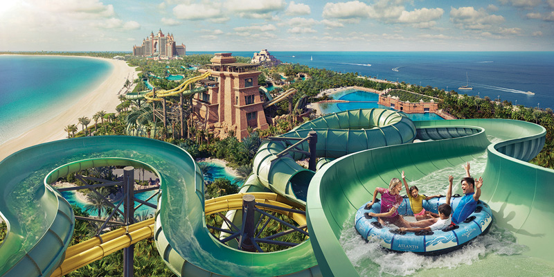 Aquaventure Waterpark at Atlantis The Palm 1
