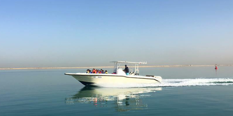 Cruise N Dip in Abu Dhabi 1