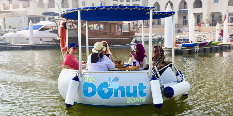 Eco Donut Boat Rental 1