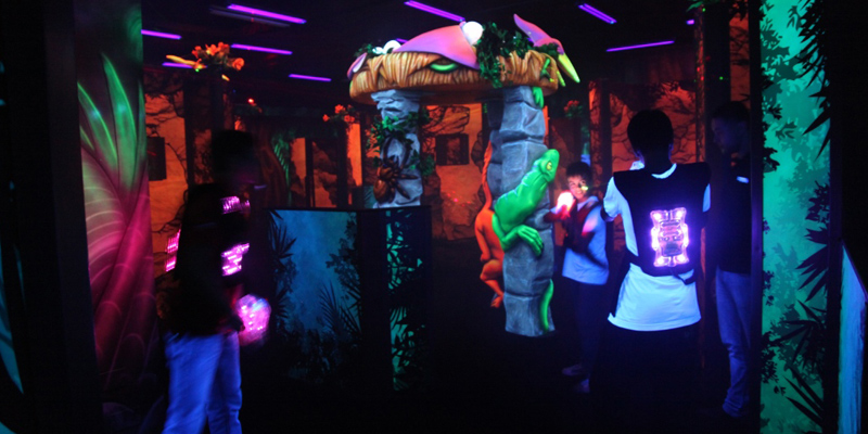 Laser Tag and 6D Movies at Thrill Zone 1