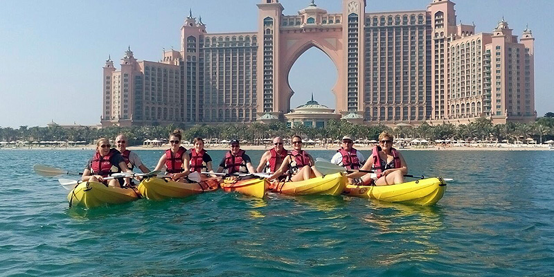 Sea You Kayak Tour di Palm Jumeirah 1
