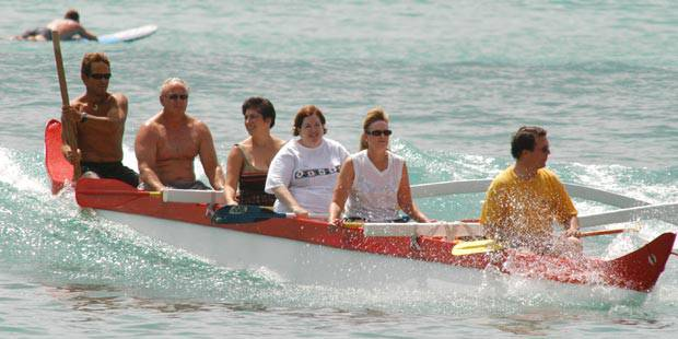 Hawaiian Ocean s Outrigger Canoe Ride 1