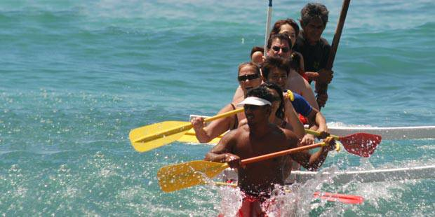 Hawaiian Ocean s Outrigger Canoe Ride 2